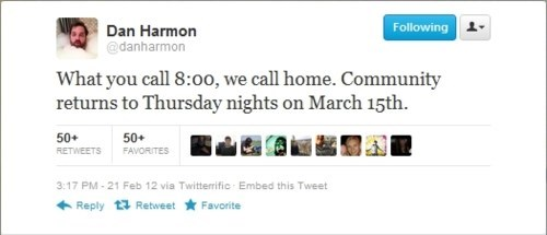community,dan harmon