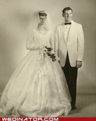 wedding picture story vintage