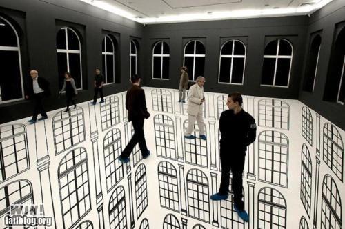 art design illusion installation my eyes - 5873473024