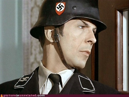 Leonard Nimoy nazi Spock Star Trek wtf - 5873556224