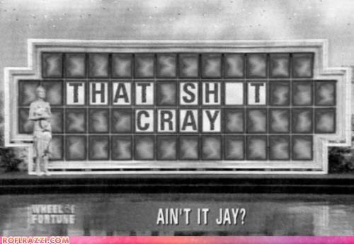 funny Jay Z kanye west meme shoop TV wheel of fortune - 5873796608