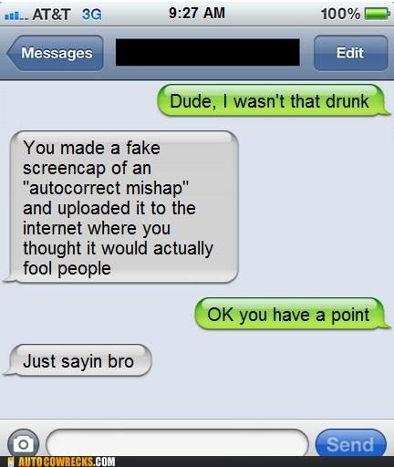 drinking fake last night - 5873827840