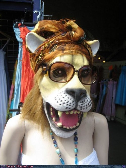 cub glasses lion mask