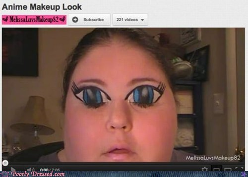 anime eyes makeup soul staring into your soul