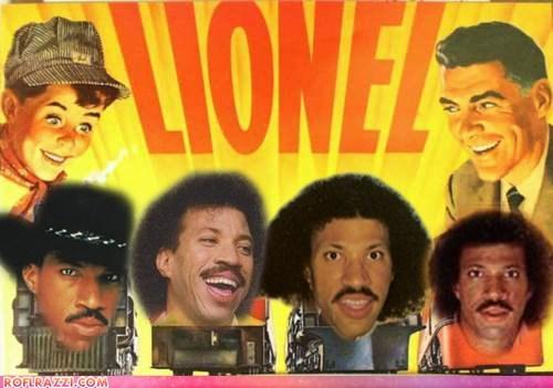celeb funny lionel richie Music pun - 5873970176
