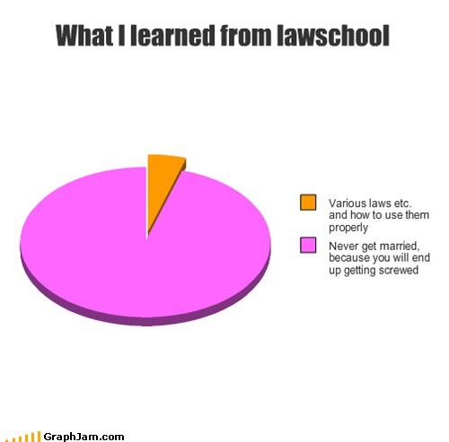 divorce,forever alone,latin,law,legal,marriage,Pie Chart