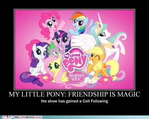 colt cult following my little pony ponies pun wordplay - 5874143744