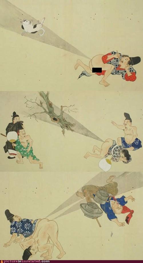 art,japanese,scrolls,wtf