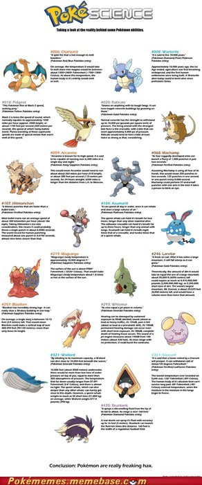 infographic IRL pokemon science reality science - 5874676736