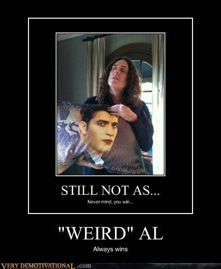 edward hilarious Pillow twilight weird al - 5874704384