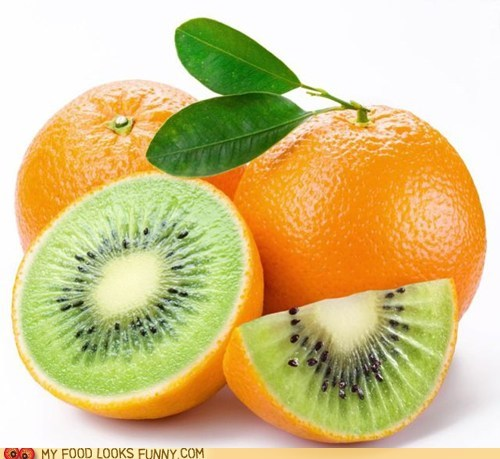 fake fruit kiwi orange photoshop - 5874727680