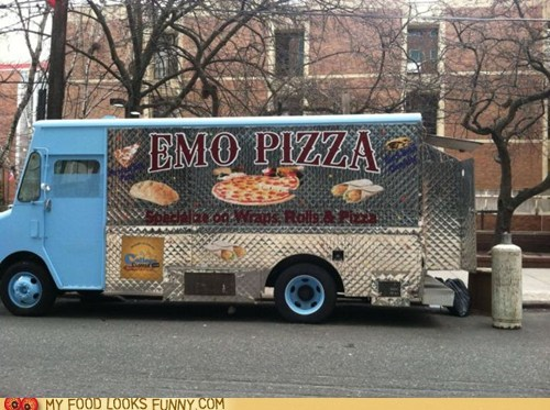 emo mobile pizza truck