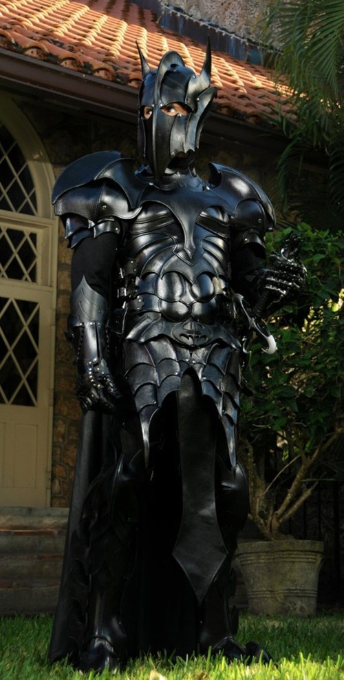 armor batman cosplay cosplay corner dark knight medieval batman superheroes - 5874772736