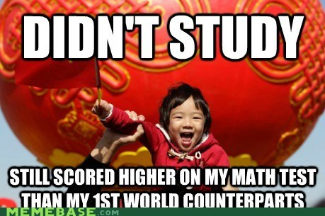 asia math study test Third World Success Kid - 5874915840