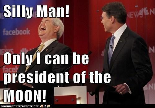 moon newt gingrich political pictures Republicans - 5874938880