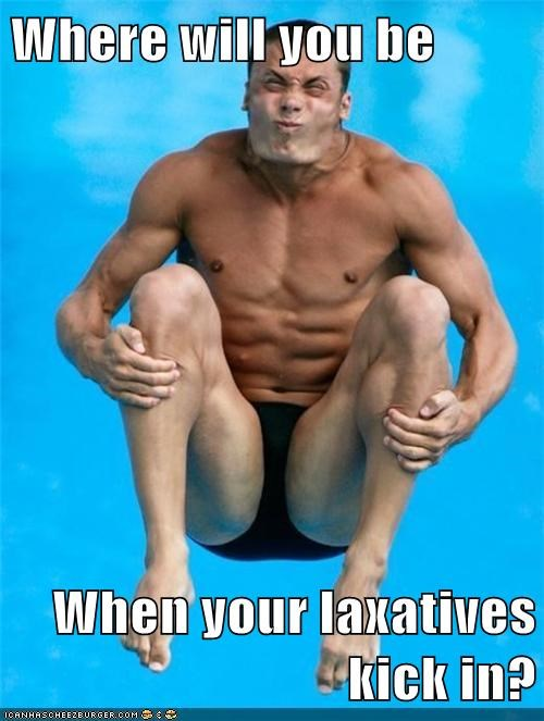 derp,diving,laxative