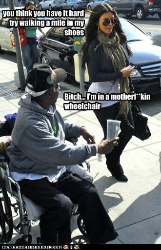 celeb funny kim kardashian Sad - 5876123392