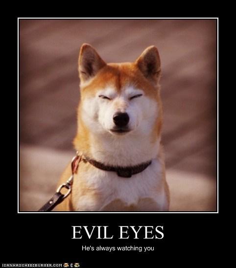 EVIL EYES He's always watching you