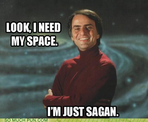 but not really carl sagan FAIL Hall of Fame homophones sagan saying similar sounding
