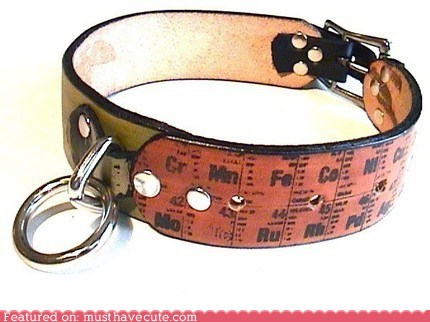 accessories Chemistry collar dogs periodic table science - 5876565248