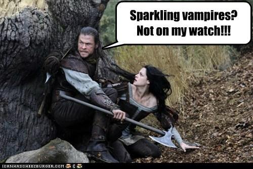 chris hemsworth funny kristen stewart Movie snow white and the huntsman - 5877243648
