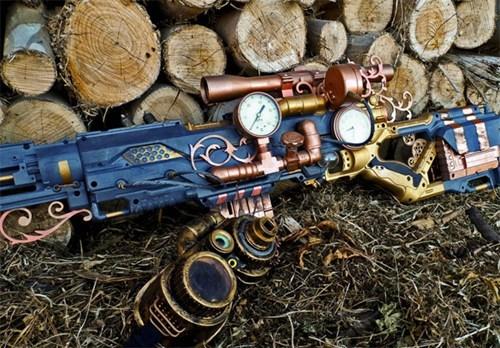 Steampunk Nerf Gun of the Day