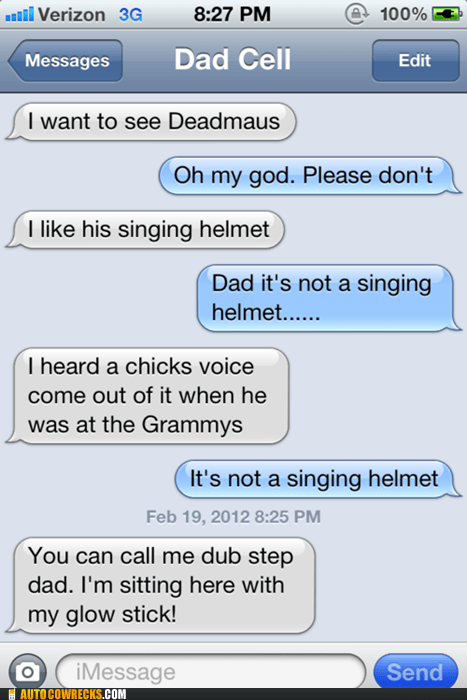 dad,Deadmau5,Grammys,Music,parenting