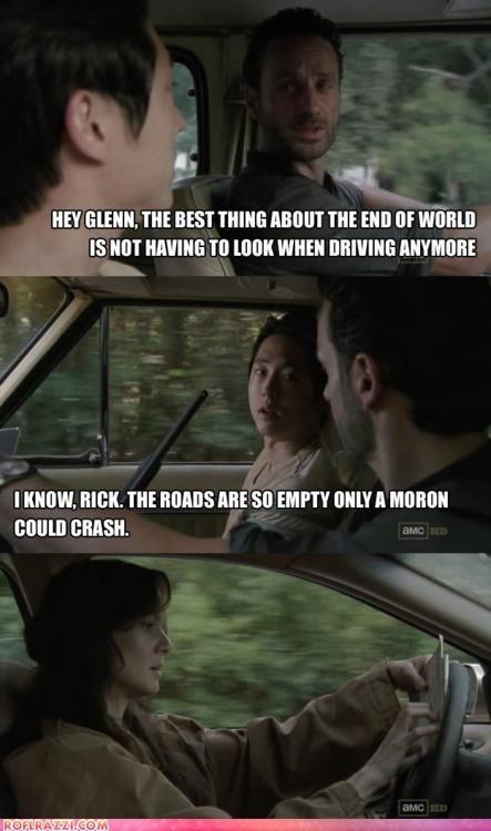 actor amc Andrew Lincoln celeb comic funny sarah wayne callies Steven Yeun The Walking Dead TV - 5878048512