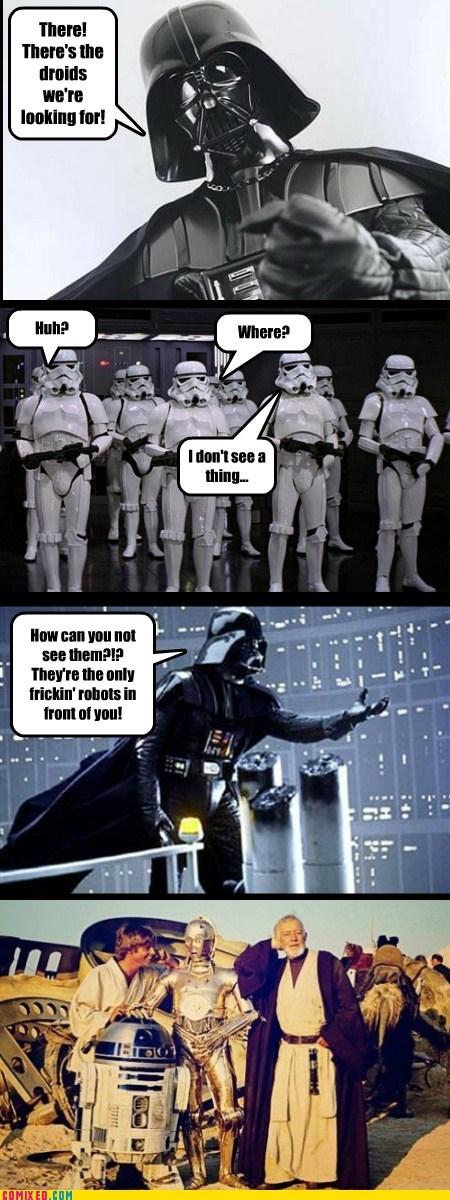 droids obi-wan kenobi star wars stormtrooper - 5878199552