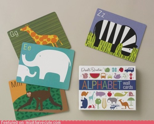 alphabet animals decor design learning - 5878294784