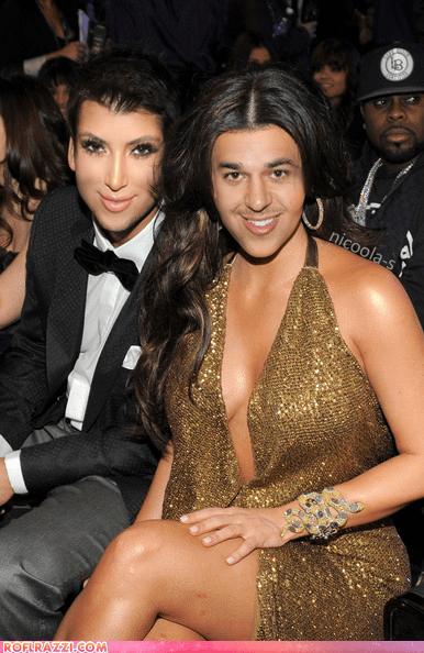 celeb face swap funny kim kardashian rob kardashian shoop - 5878319104