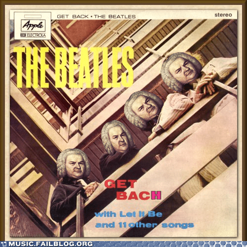Bach beatles classical the Beatles - 5878322432
