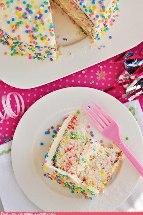 cake colorful confetti epicute Party - 5878467840