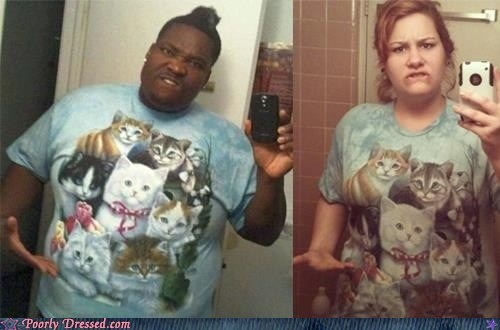 Cats g rated poorly dressed self poortrait thug life