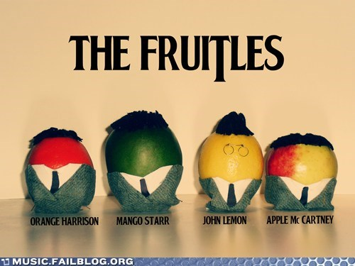 fruit,fruitles,puns,the Beatles