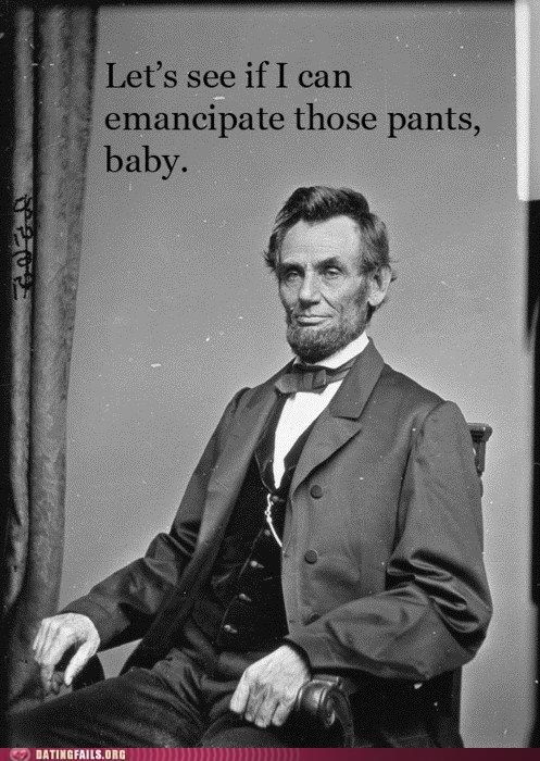 emancipate those pants president lincoln presidents day - 5878910720