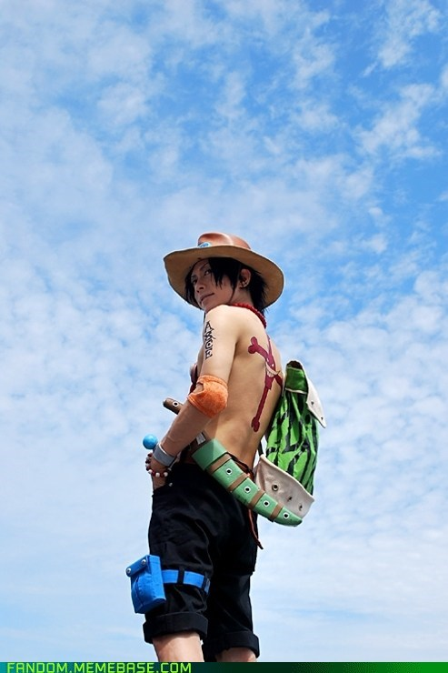 anime,cosplay,one piece,portgas d ace