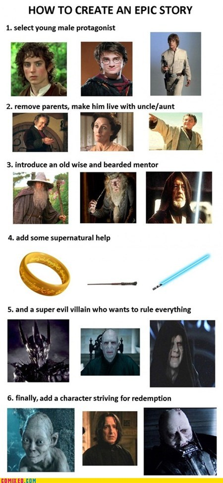 best of week creation Epic Story From the Movies Harry Potter Lord of the Rings movies star wars Supernatural - 5878990592