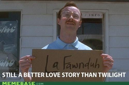 Lafawnduh,love story,Memes,napoleon dynamite,twilight