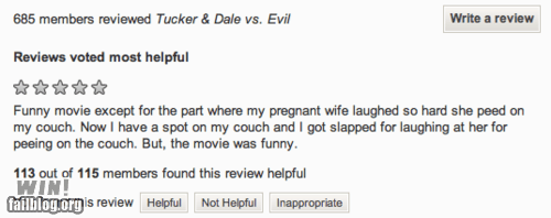 customer review Movie review