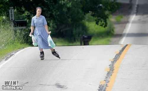 amish photography rollerblading whee - 5879077632