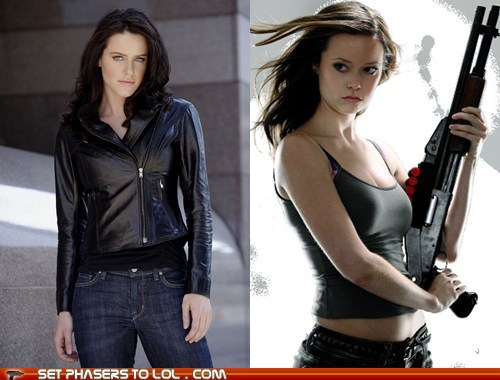 Battle bionic woman cancelled show michelle ryan sarah connor summer glau writers - 5879186944