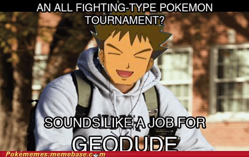 brock crossover freshman geodude meme Memes - 5879228416