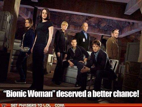 Battle better bionic woman cancelled show chance vote