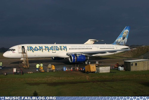airline airplane iron maiden metal - 5879316736