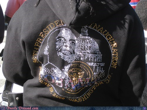 Bling obama sweatshirt - 5879521536