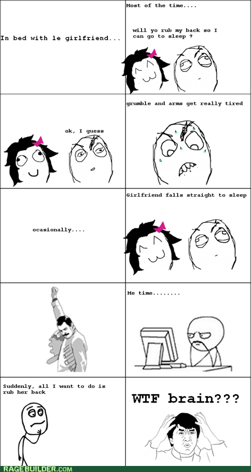 Rage Comics relationships sleep wtf - 5879555584