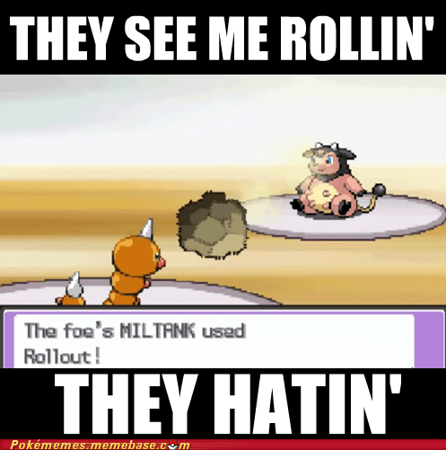 Memes milk drink miltank rollout they see me rollin whitney - 5880079360