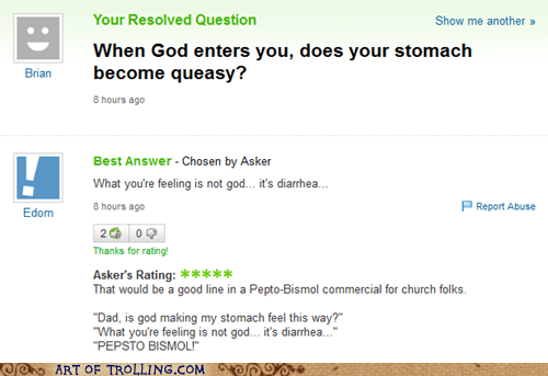 god queasy that sounds naughty Yahoo Answer Fails - 5880484608