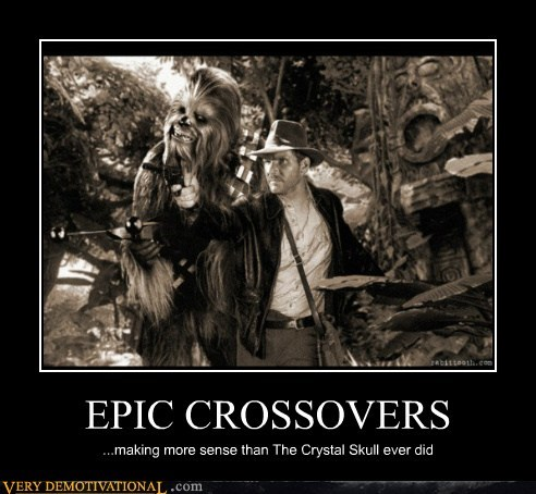 Chewie,cross over,Indiana Jones,Pure Awesome,star wars,wtf